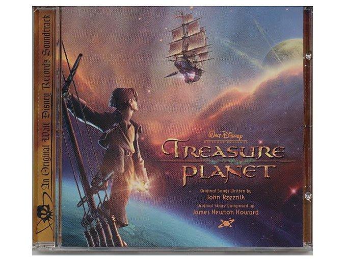 Planeta pokladů (soundtrack - CD) Treasure Planet