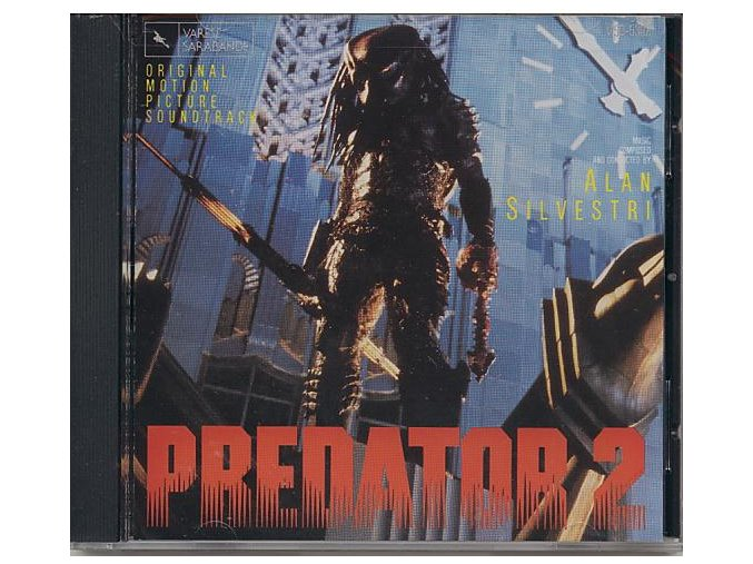 Predátor 2 (soundtrack - CD) Predator 2