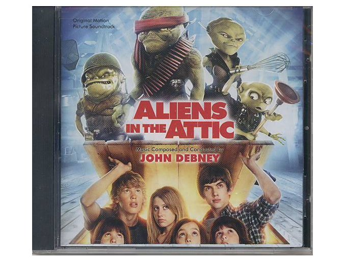 Příšerky z podkroví (soundtrack - CD) Aliens in the Attic