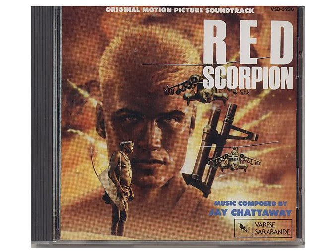 Rudý škorpion (soundtrack - CD) Red Scorpion