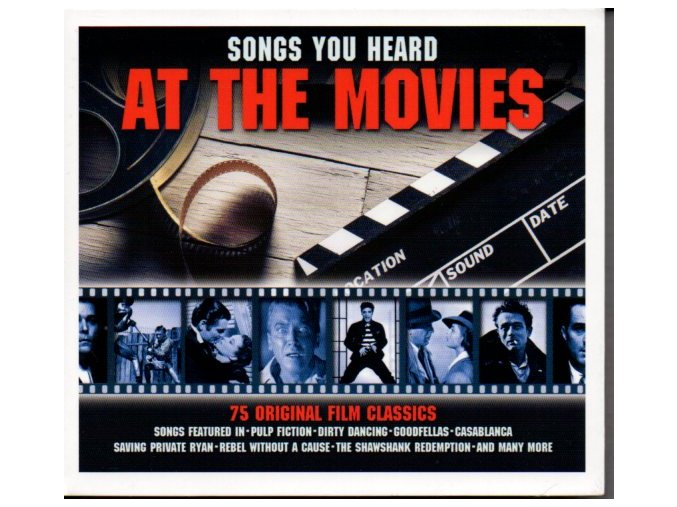 Songs You Heard at the Movies (CD)