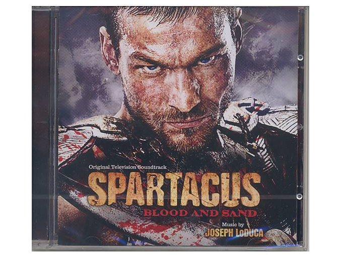 Spartakus: Krev a písek (soundtrack - CD) Spartacus: Blood and Sand