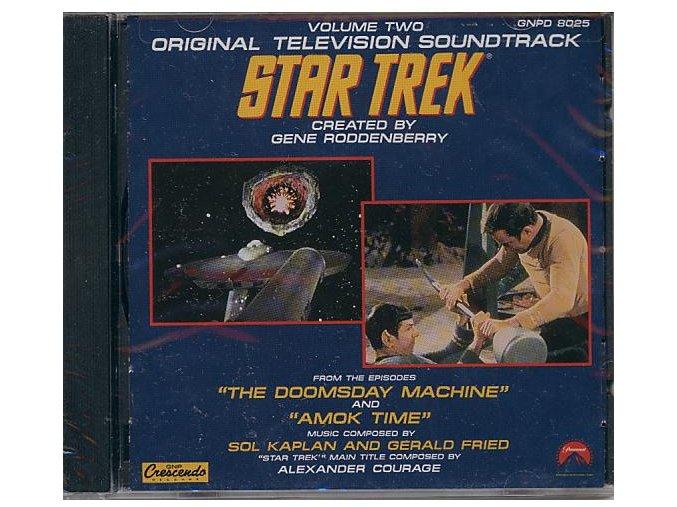 Star Trek vol. 2 (soundtrack - CD)