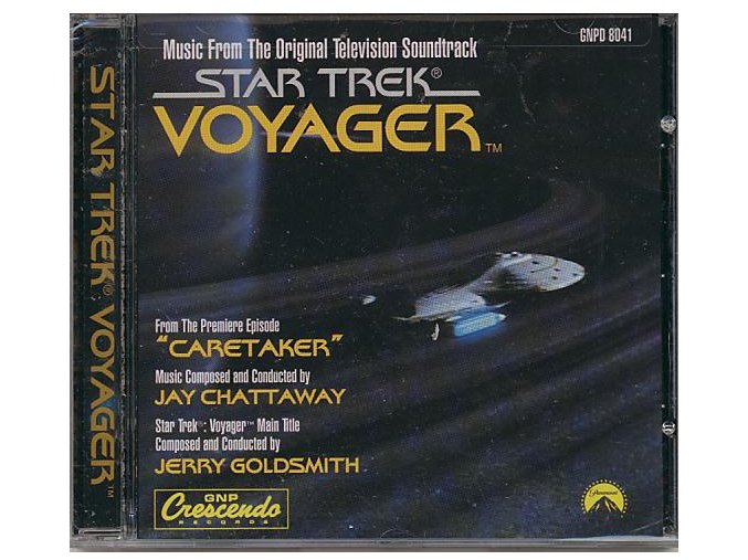 Star Trek: Voyager (soundtrack - CD)