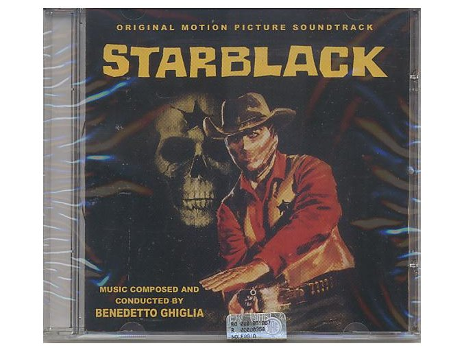 Starblack - Johnny Colt (soundtrack - CD)