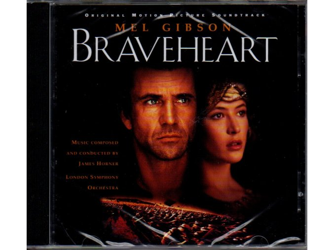 braveheart soundtrack cd james horner