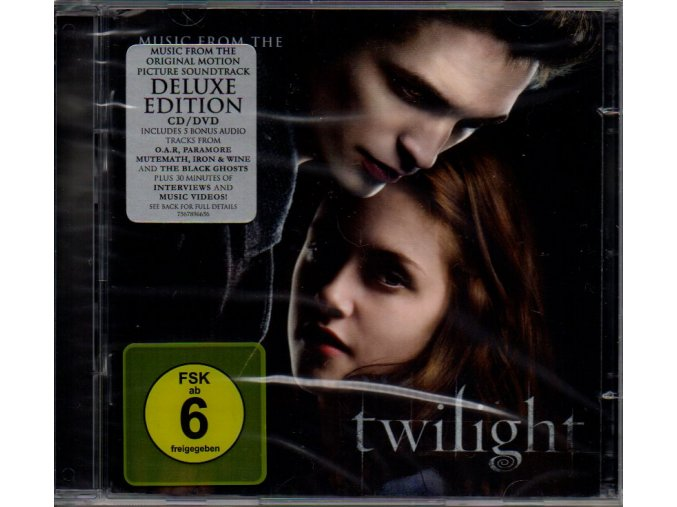twilight soundtrack deluxe cd dvd