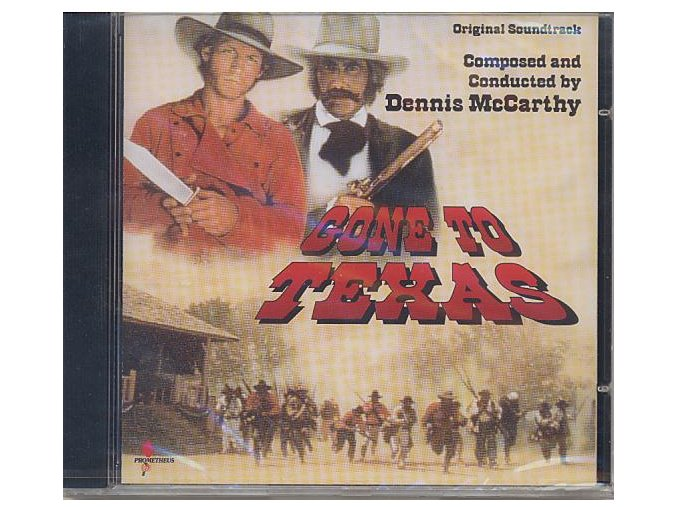 Texas / Tichý úkryt (soundtrack - CD) Gone to Texas / Hidden in Silence