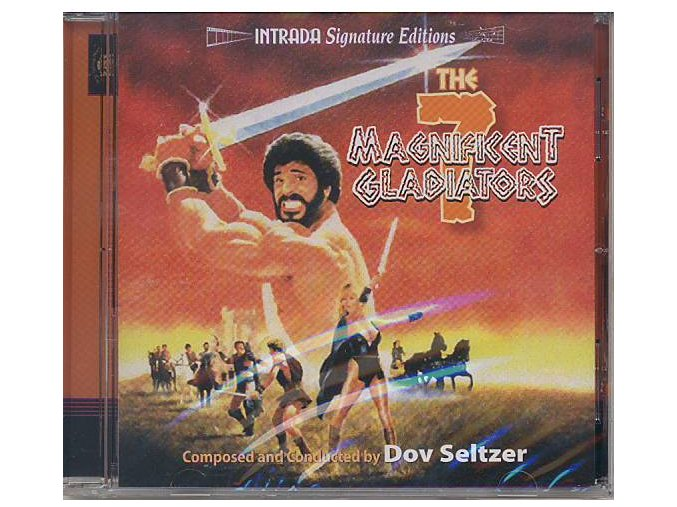 The 7 Magnificent Gladiators (soundtrack - CD)