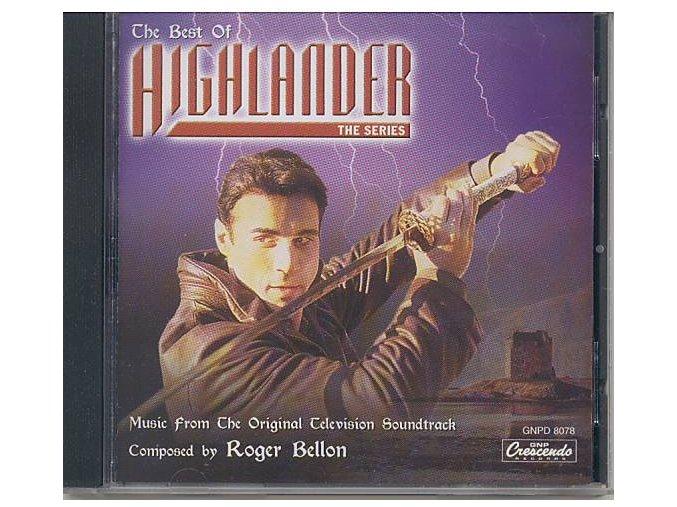 The Best of Highlander: The Series (soundtrack - CD)