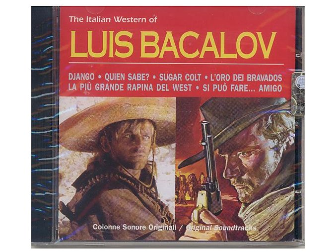 The Italian Western of Luis Bacalov (CD)