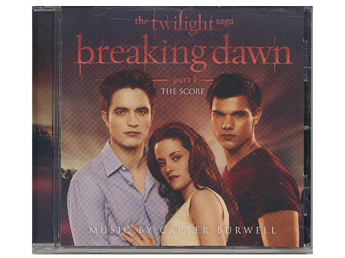 Twilight sága: Rozbřesk - 1. část (score - CD) The Twilight Saga: Breaking Dawn: Part One