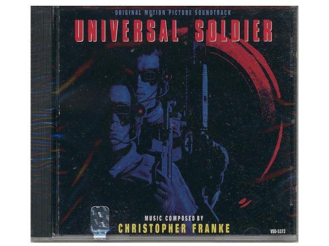 Univerzální voják (soundtrack - CD) Universal Soldier