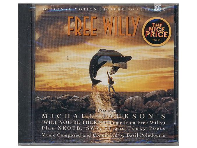Zachraňte Willyho (soundtrack - CD) Free Willy
