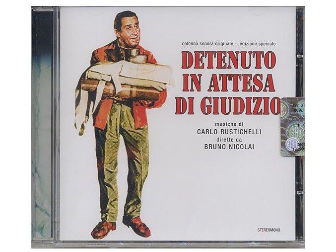 Zatčen na hranicích (soundtrack - CD) Detenuto In Attesa Di Giudizio - In Prison Awaiting Trial