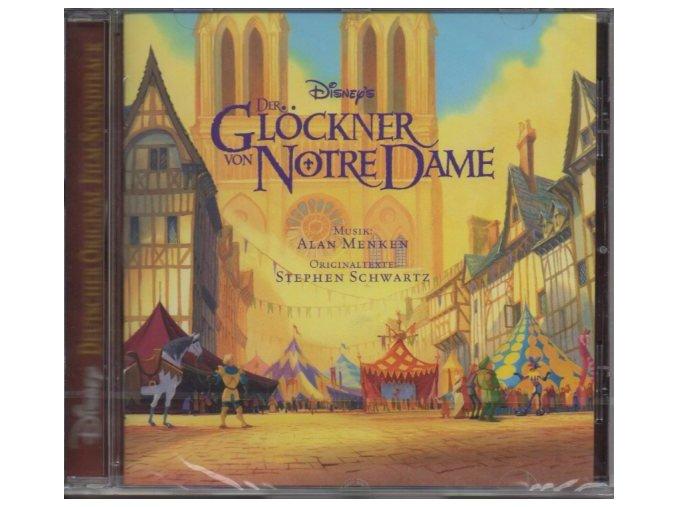 Zvoník u Matky Boží (soundtrack - CD) Der Glockner von Notre Dame