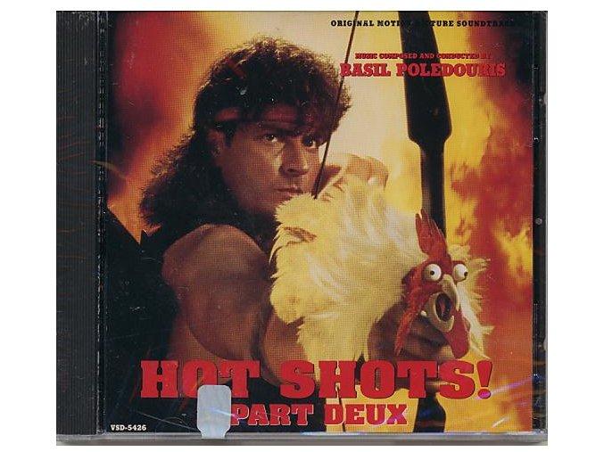 Žhavé výstřely 2 (soundtrack - CD) Hot Shots! Part Deux