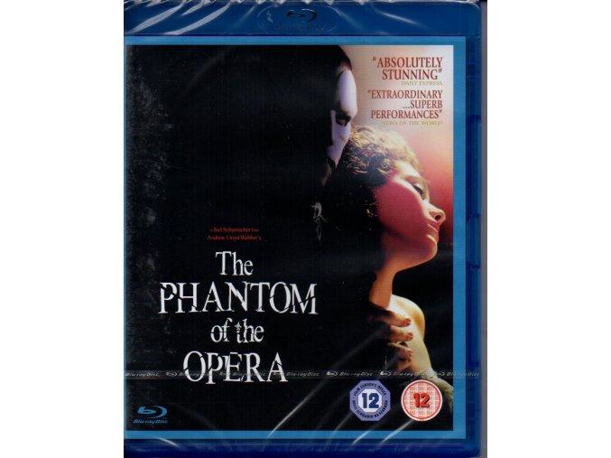 phantom of the opera blu ray andrew lloyd webber