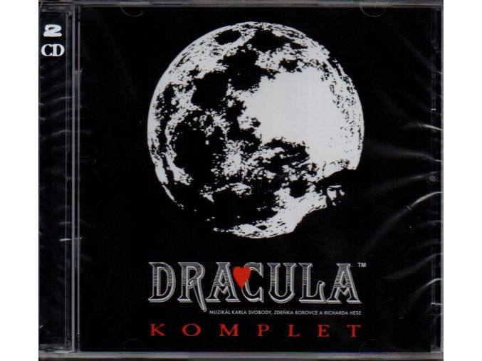 dracula komplet muzikál 2 cd karel svoboda