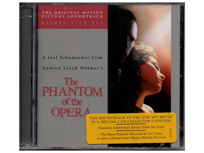 Fantom opery (soundtrack) The Phantom of the Opera (2 CD)