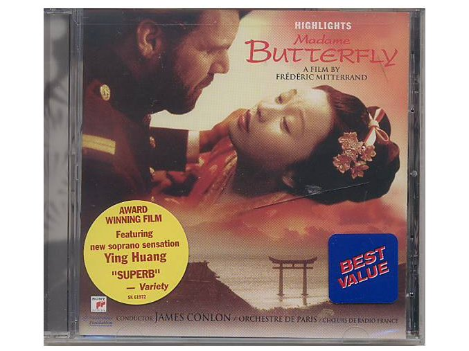 Madame Butterfly: Highlights Muzikál (CD)