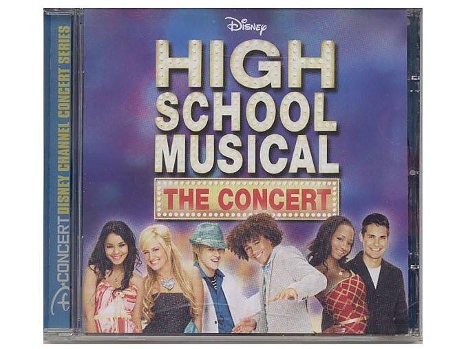 Muzikál ze střední - High School Musical: The Concert (CD)