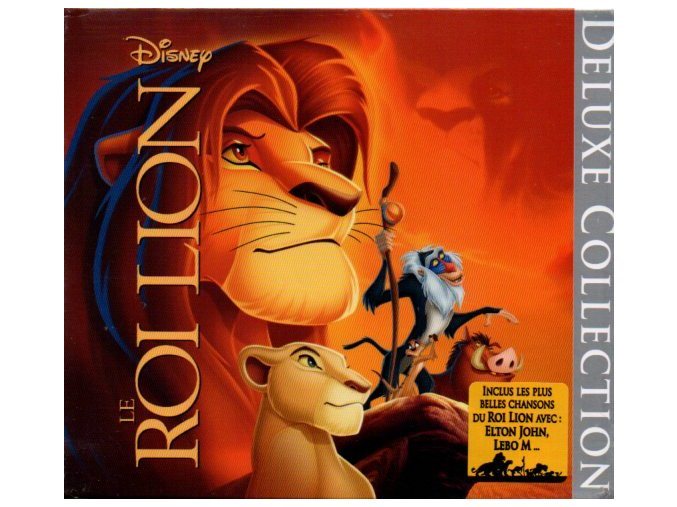 Lví král (soundtrack - CD) Le Roi Lion