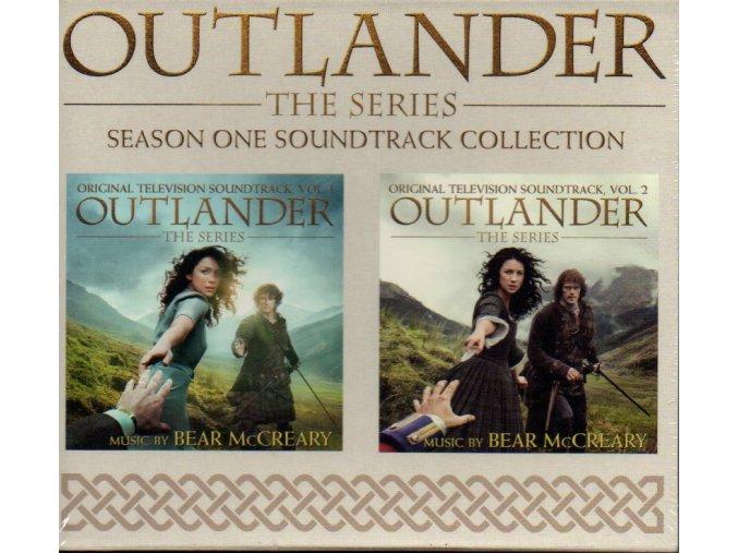 outlander season one soundtrack collection 2 cd bear mccreary