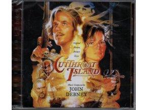 Ostrov hrdlořezů (score) Cutthroat Island (2 CD)