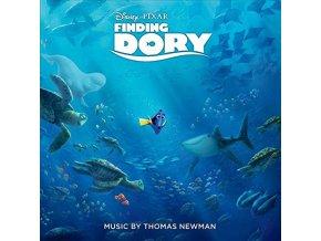 Hledá se Dory (soundtrack - CD) Finding Dory