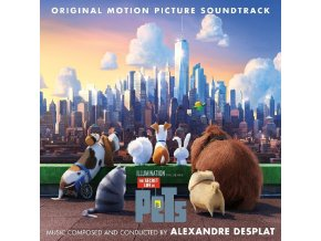 Tajný život mazlíčků (soundtrack - CD) The Secret Life of Pets