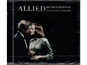 allied soundtrack cd alan silvestri