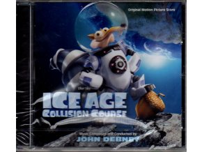 ice age collision course soundtrack cd john debney