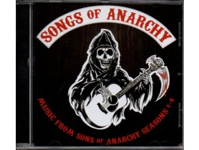 Zákon gangu (soundtrack - CD) Sons of Anarchy: Songs of Anarchy Seasons 1-4