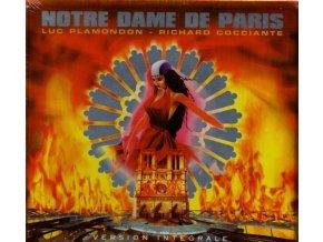 notre dame de paris muzikál 2 cd