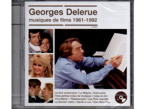 georges delerue musiques de films 1961 1992 cd