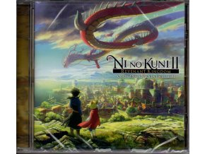ni no kuni 2 revenant kingdom soundtrack cd joe hisaishi