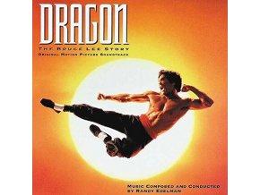 dragon the bruce lee story lp vinyl randy edelman