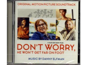 don´t worry, he won´t get far on foot soundtrack cd danny elfman