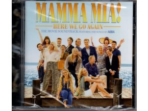 mamma mia here we go again soundtrack cd abba