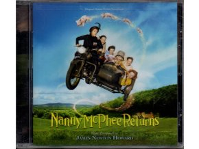 nanny mcphee returns soundtrack cd james newton howard