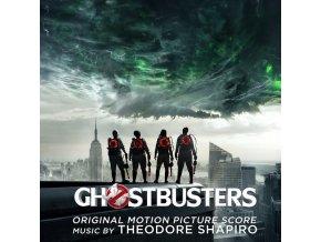 ghostbusters score lp vinyl theodore shapiro