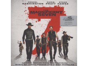 the magnificent seven soundtrack 2 lp vinyl james horner