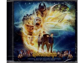 goosebumps soundtrack cd danny elfman