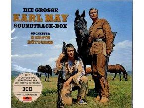 die grosse karl may soundtrack box martin böttcher 3 cd