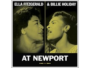 ELLA FITZGERALD & BILLIE HOLIDAY - At Newport (LP)