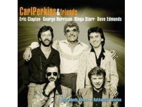 "CARL PERKINS & FRIENDS - Blue Suede Shoes - A Rockabilly Session (10"" Vinyl)"