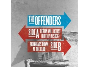"""OFFENDERS - Berlin Will Resist - Riot 87 In So36 (7"""" Vinyl)"""