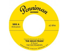 "EXCITEMENTS - The Mojo Train (7"" Vinyl)"