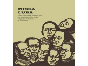 TROUBADOURS DU ROI BAUDOUIN  - Missa Luba (LP)